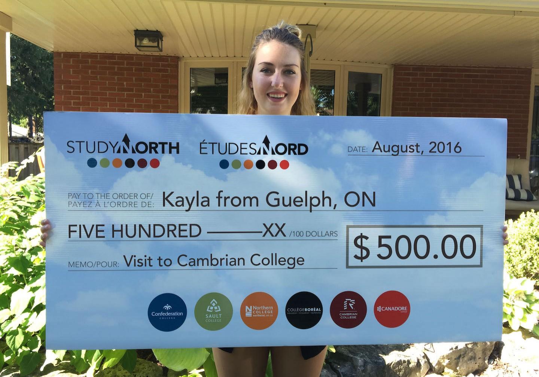 KaylaCambrianGuelph_cheque