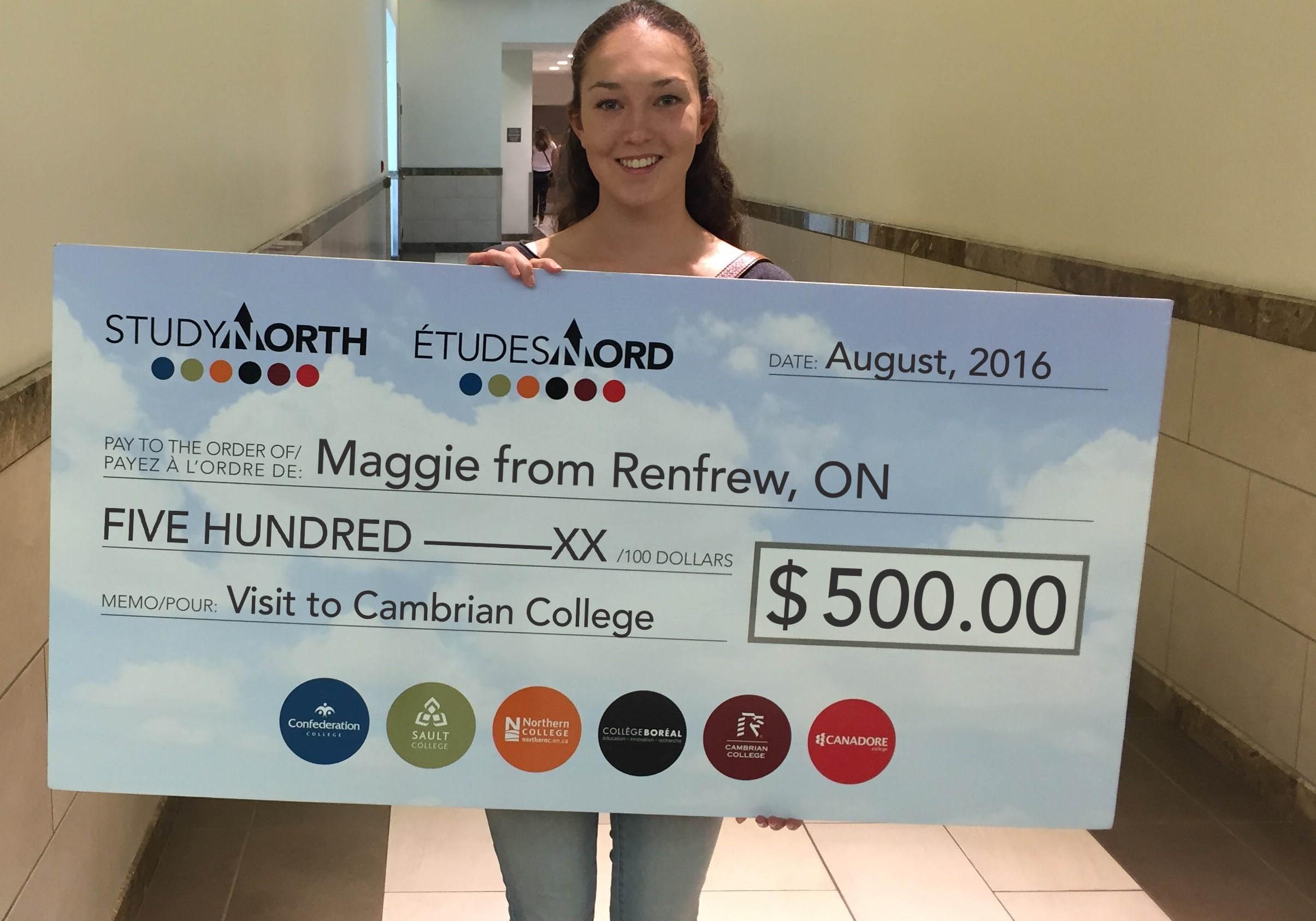 MaggieRenfrewCambrian_cheque